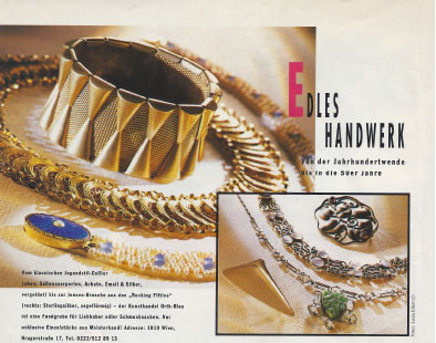 Brigitte Edles Handwerk 1995