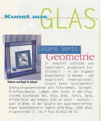 Kunst aus Glas 1996