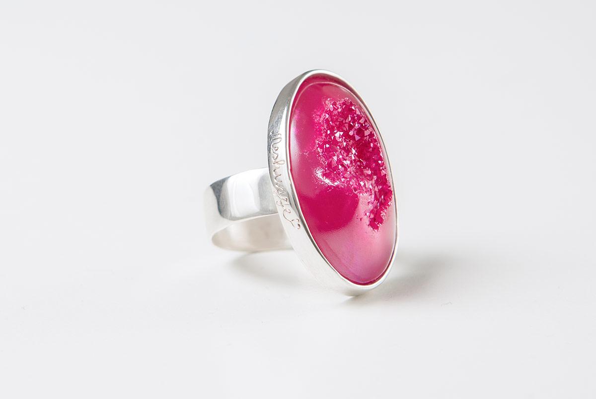 Orth-Blau Meshugge Ring