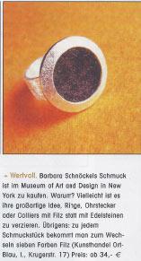 Presse Schaufenster 2004